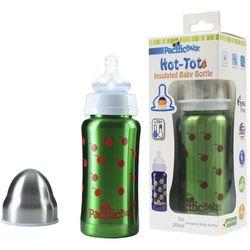 PACIFIC BABY Termobutelka 3 w 1 - 200 ml - Zielona
