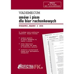 EBOOK Vademecum umów i pism dla biur rachunkowych 2016