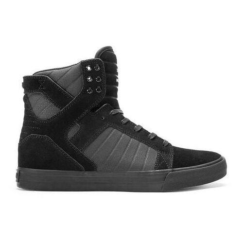 Męskie obuwie sportowe, buty SUPRA - Skytop Black/Black-Black (BBB)