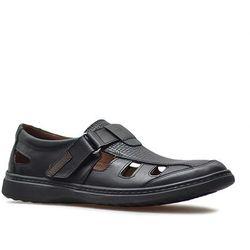 Sandały Krisbut 5064-1-9 Czarne lico