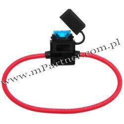 Gniazdo bezpiecznika płytkowego hermetyczne 5mm2