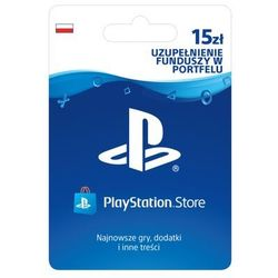 SONY PlayStation Network 15 zł