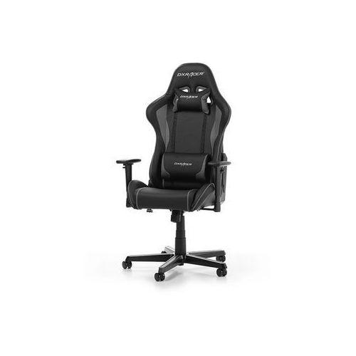 Fotele dla graczy, Fotel DXRacer Formula Gaming czarno-szary OH/FH08/NG Darmowy odbiór w 21 miastach!