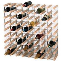 Drewniany stojak na wino | 72 butelki | 810x230x(H)230mm