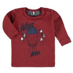 Name it NITWOOD Bluzka z długim rękawem brick red