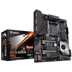 Płyta główna Gigabyte X570 AORUS PRO DDR4 DIMM AM4 ATX Quad CrossFireX Quad SLI RAID SATA- natychmiastowa wysyłka, ponad 4000 punktów odbioru!