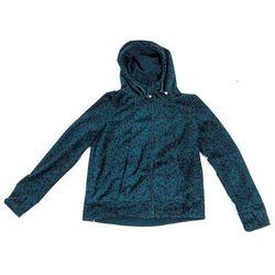 bluza BENCH - Her. Fleece Zip Through Hoody Ponderosa Pine + Black Beauty (P1376)