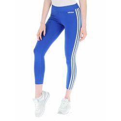 Legginsy damskie adidas W Essentials 3S Tight niebieskie FM6701