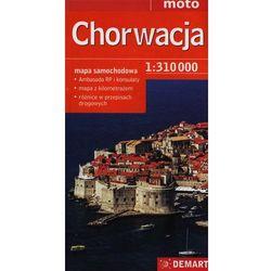 Chorwacja Mapa Samochodowa 1:310 000 (opr. miękka)