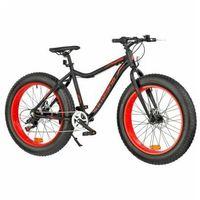 Pozostałe rowery, Rower INDIANA Fat Bike M18 Czarno-czerwony   5 LAT GWARANCJI NA RAMĘ DARMOWY TRANSPORT