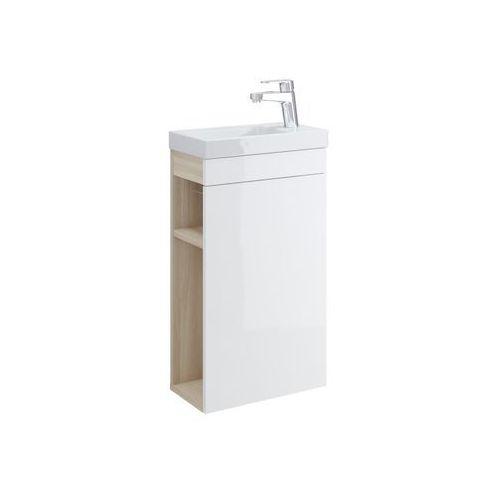 Szafki łazienkowe, CERSANIT SMART Szafka podumywalkowa 40, front biały S568-022