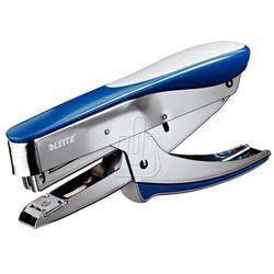Zszywacz konduktorski 24/6 niebieski metalik, nożycowy do 30k.55480033