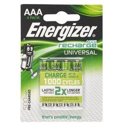 Akumulatory ENERGIZER Universal AAA 500mAh 4szt.