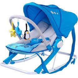 Leżaczek CARETERO Aqua niebieski + DARMOWY TRANSPORT!
