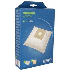 WOMB01K Worki Perfect Bag (4szt.) + filtr wlotowy (1szt.) do odkurzacza