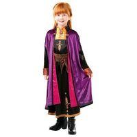 Przebrania dziecięce, Kostium Frozen 2 Anna Deluxe dla dziewczynki - 9-10 lat