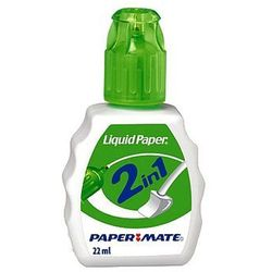 Korektor w płynie Liquid Paper 2w1 22ml PaperMate S0900151