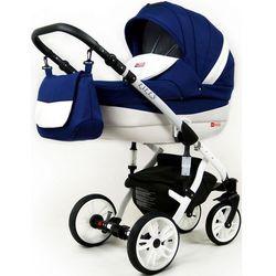 Sun Baby wózek 3w1 Raf-pol Lilly sailor blue - BEZPŁATNY ODBIÓR: WROCŁAW!