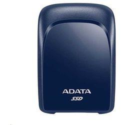 Adata Dysk SSD zewnętrzny SC680 480G USB3.2-A/C niebieski
