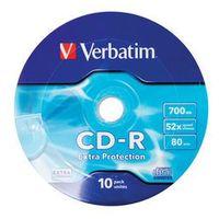 Płyty CD, DVD, Blu-ray, Płyty CD-R VERBATIM 700MB 10szt.