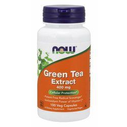 NOW Foods Ekstrakt z Zielonej Herbaty 400 mg 100 kaps