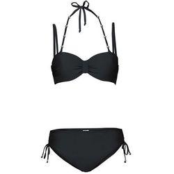 Bikini na fiszbinach (2 części) bonprix czarny