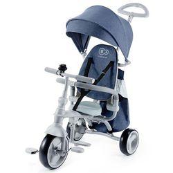 KinderKraft rowerek trójkołowy Jazz niebieski
