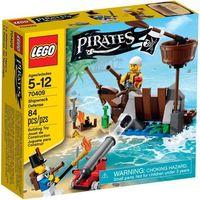 Klocki dla dzieci, Lego PIRATES Obrona wraku 70409