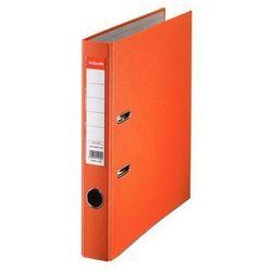 ESSELTE Segregator A4 ekonomiczny z mechanizmem dźwigniowym 50mm, pomarańczowy