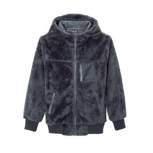 Bluzy dla dzieci, Bluza rozpinana z polaru bonprix dymny szary - jasny indygo