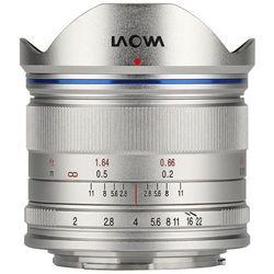 Obiektyw LAOWA Venus Optics C-Dreamer 7.5mm f/2.0 Micro 4/3 Srebrny + DARMOWY TRANSPORT!