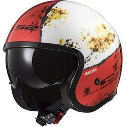 KASK LS2 OF599 SPITFIRE RUST WHITE RED