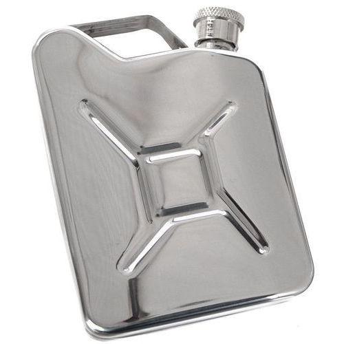Piersiówki, Piersiówka kanister - stal nierdzewna, 170 ml, ciekawy prezent