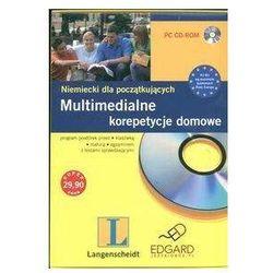 Multimedialne korepetycje domowe Niemiecki dla początkujących CD