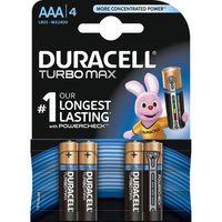 Pozostałe akcesoria do TV, Bateria DURACELL Turbo PowerCheck LR03/AAA MN2400 K4