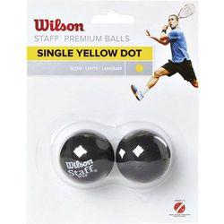 Wilson 2-Pack 1 kropka żółta