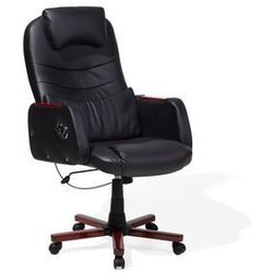 Krzesło biurowe czarne CAPTAIN