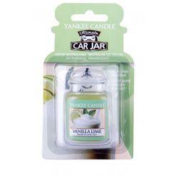 Yankee Candle Vanilla Lime Car Jar zapach samochodowy 1 szt unisex