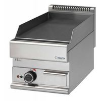 Grille gastronomiczne, Płyta grillowa elektryczna gładka nastawna | 395x520mm | 4500W