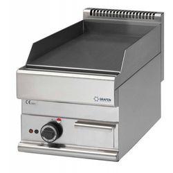 Płyta grillowa elektryczna gładka nastawna | 395x520mm | 4500W