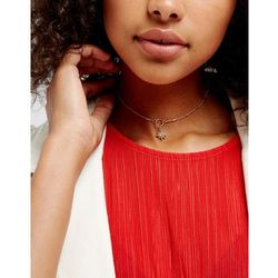 Liars & Lovers Delicate Moon Charm Choker - Gold