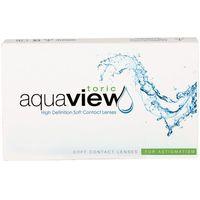 Soczewki kontaktowe, AquaView Toric 3 szt.
