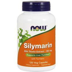 Now Foods Silymarin (Ekstrakt z ostropestu + Kurkuma) 150mg 120 kaps.