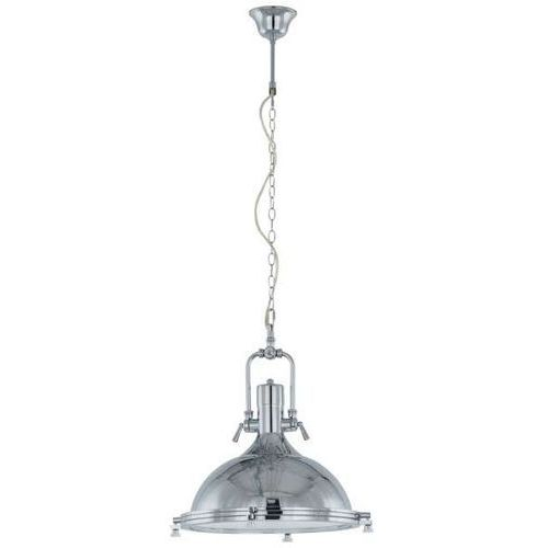 Lampy sufitowe, Industrialna LAMPA wisząca MADISON MA04099C-001 Italux przemysłowa OPRAWA metalowa loft chrom