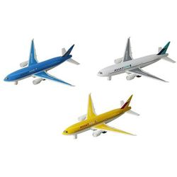 Samolot metalowy z napędem w pudełku 110301 cena za 1 szt