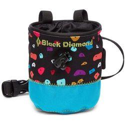 Black Diamond Mojo Torebka na magnezję Dzieci, niebieski 2021 Magnezje i torebki na magnezje