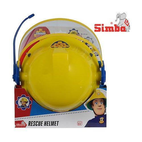 Pozostałe zabawki, Simba Dickie Strażak Sam Kask Strażacki z Mikrofonem 258698