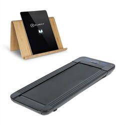KLARFIT Workspace Go Light bieżnia + uchwyt na tablet 350 W, 0,8–6 km/h, 11 czarna