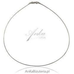 ankabizuteria.pl łańcuszek włoski srebrny linka omega -wyjątkowo pięknie się