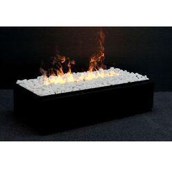 Wkład kominkowy do zabudowy kaseta L pebble - 3D świeci i dymi - EKSTRA DODATKOWE RABAT - Nowość 2020